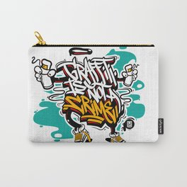 Graffiti is not a crime Carry-All Pouch