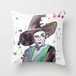 Professor McGonagall Throw Pillow