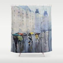 Plaze de las Cortes Shower Curtain