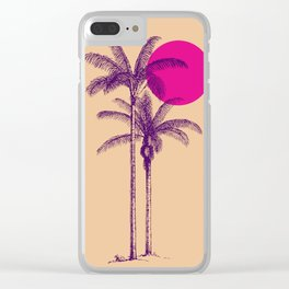 palm dream Clear iPhone Case