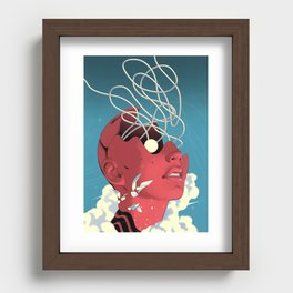 The Electric Eye Recessed Framed Print