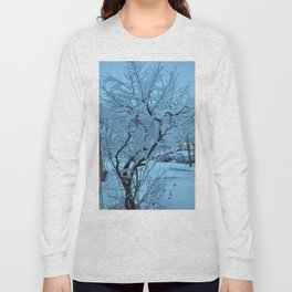 Snow Covered Tree Long Sleeve T-shirt