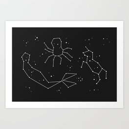 Seeing Is Believing - In The Stars Art Print