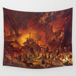 The revolt in the underworld Wall Tapestry