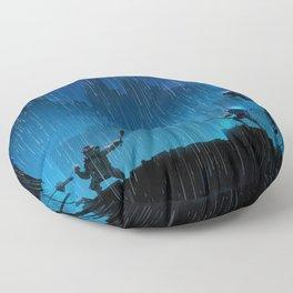 Rooftop Rumble Floor Pillow