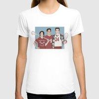 lacrosse T-shirts featuring Scott McCall/Stiles Stilinski/Kira Yukimura Lacrosse by vulcains