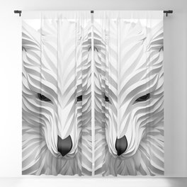 White Wolf Blackout Curtain