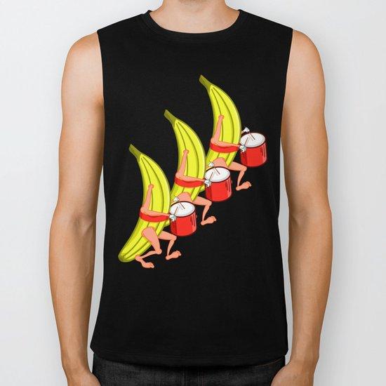 Banana Marching Band Biker Tank