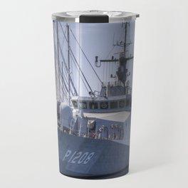 Turkish Navy Tuzla Class Patrol Boat Travel Mug