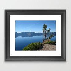 Crater Lake II Framed Art Print