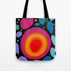 Galaxy Abstract Pattern Minimalist Decoration Tote Bag