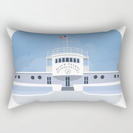 Beach Patrol Rectangular Pillow