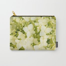 The flowers of white hydrangeas. #hydrangea Carry-All Pouch