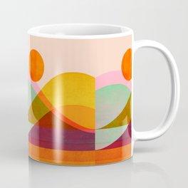 Abstraction_SUNSET_LANDSCAPE_POP_ART_Minimalism_018X Coffee Mug