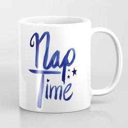 Nap Time | Lazy Sleep Typography Coffee Mug