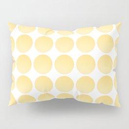 Yellow Balls Pillow Sham