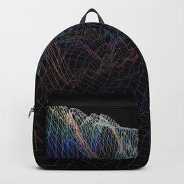 glitch waves Backpack