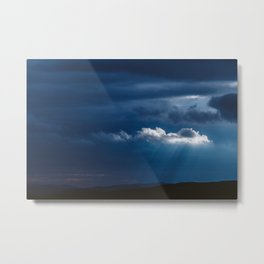 Storm is comming Metal Print