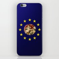 europe iPhone & iPod Skins featuring Europe by Turul