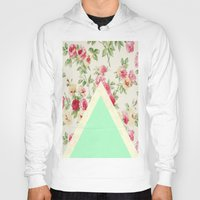 floral pattern Hoodies featuring Floral pattern by ''CVogiatzi.