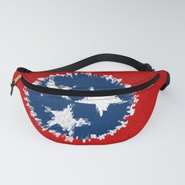 Extruded flag of Tennessee Fanny Pack