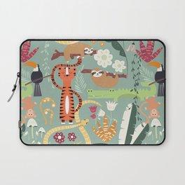 Rain forest animals 001 Laptop Sleeve