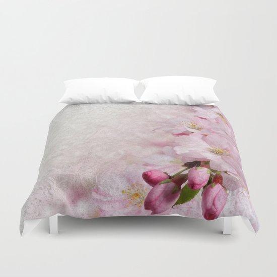 Sakura Blossoms 04 Duvet Cover