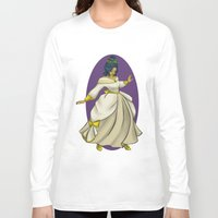 dress Long Sleeve T-shirts featuring Party Dress by Samantha MacLean
