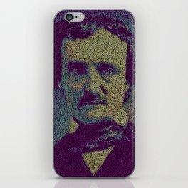 Edgar Allan Poe. iPhone Skin