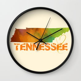 Tennessee Love Wall Clock