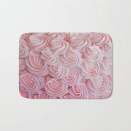 Pink Cake Frosting Bath Mat
