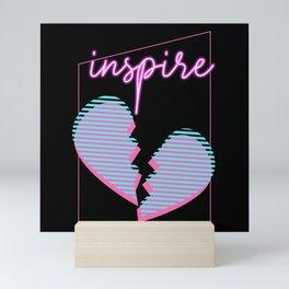 Broken Heart Inspired Mini Art Print