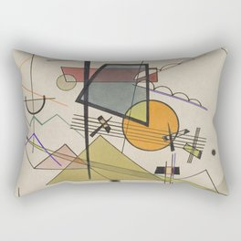 Wassily Kandinsky Melodisch Rectangular Pillow