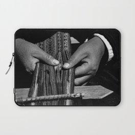 Weaver Hands Laptop Sleeve