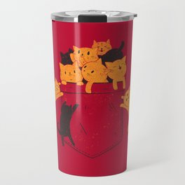 Pocket Cats Travel Mug