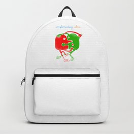 complementary colors fight Backpack