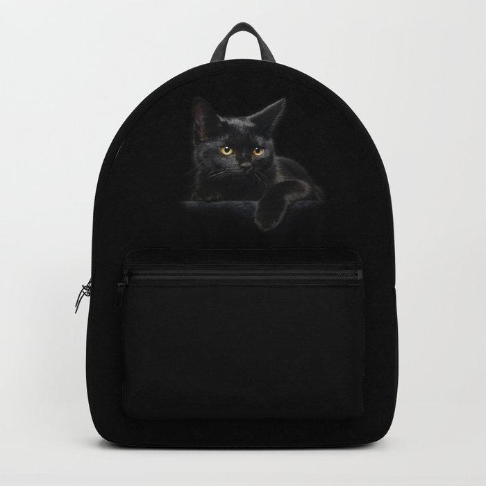 Black Cat Rucksack
