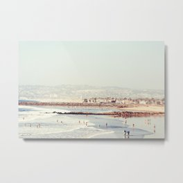 October in San Diego Metal Print