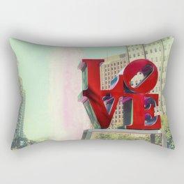 Philadelphia Love Rectangular Pillow