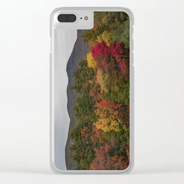 Autumn In NH Clear iPhone Case