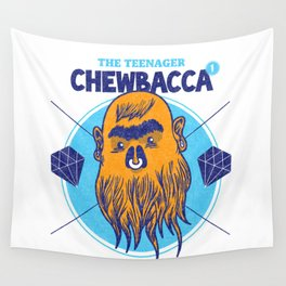 Hipster Chewie Wall Tapestry