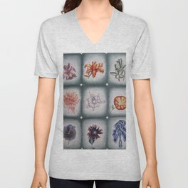 Collage Unisex V-Neck