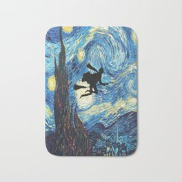 The Starry Night Hary Potter Bath Mat