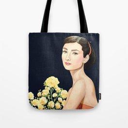 les temps doux  Audrey Tote Bag