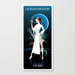 Star Wars-Leia Canvas Print