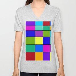 Abstract #6 Unisex V-Neck