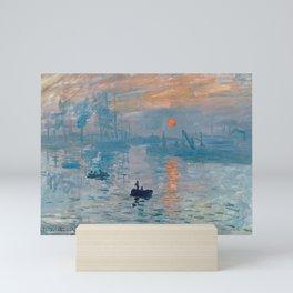 Claude Monet - Impression Sunrise Mini Art Print