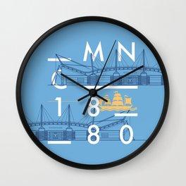 Etihad Stadium - Manchester City Wall Clock