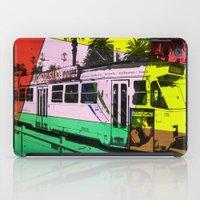 melbourne iPad Cases featuring Melbourne Tram by Jan Neil Oz Images