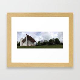 Chapelle Notre-Dame-du-Haut | Le Corbusier Framed Art Print
